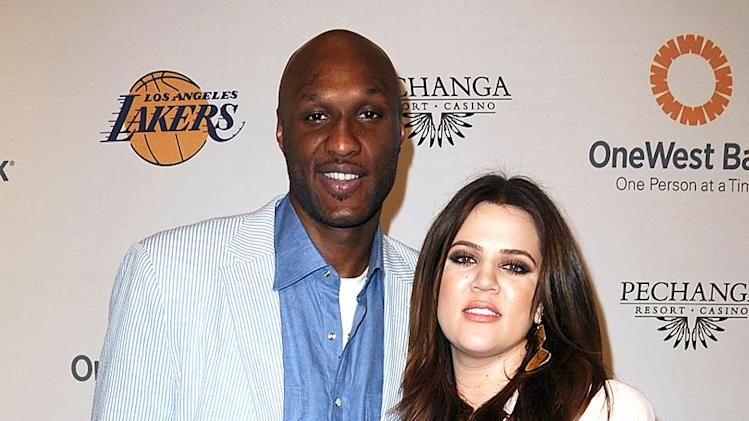 Odom Kardashian Lakers Casino Night