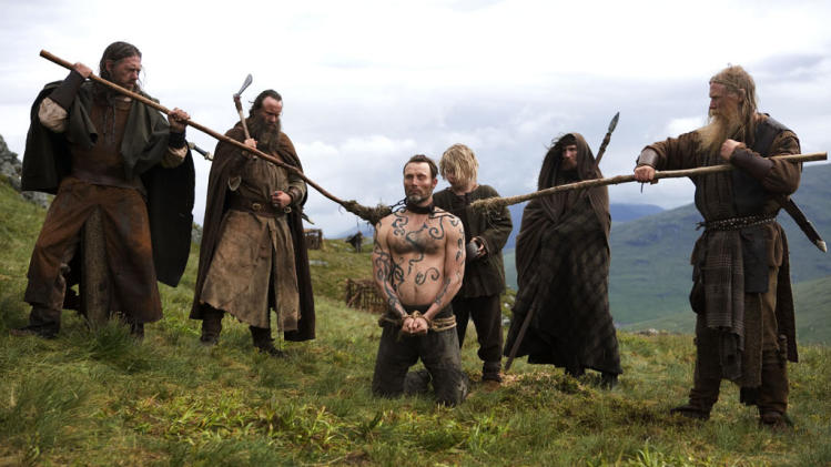 Mads Mikkelsen Valhalla Rising Production Stills IFC 2010