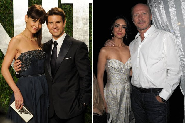 Tom Cruise: Scientology castete Nazanin Boniadi (r., m. Paul Haggis) für ihn (Bilder: Getty Images, Splash)