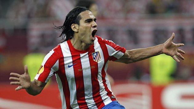 Radamel Falcao - Atletico Madrid - UEFA Supercup 2012 (AP/LaPresse)