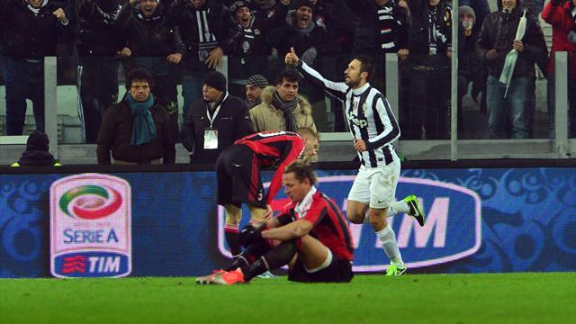 Serie A - Vucinic gives Juventus extra-time win over Milan