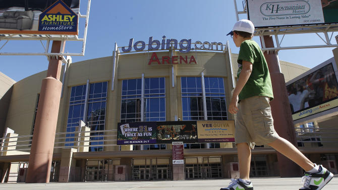 Coyotes sign new arena naming-rights deal