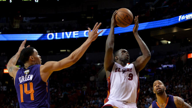 NBA: Phoenix Suns at Miami Heat