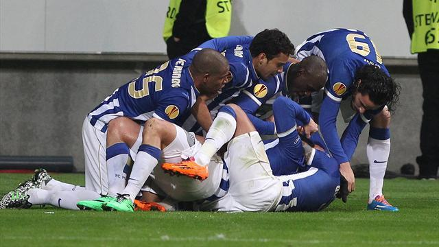 Europa League - Porto, Ludogorets snatch dramatic wins