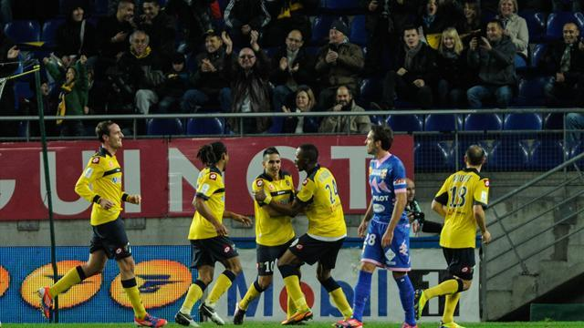 Ligue 1 - Sochaux out of drop zone after beating Evian