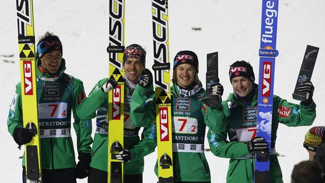 Ski Jumping - Norway close gap on World Cup leaders Austria