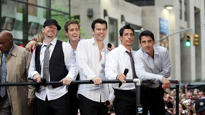 New Kids On The Block Today Show