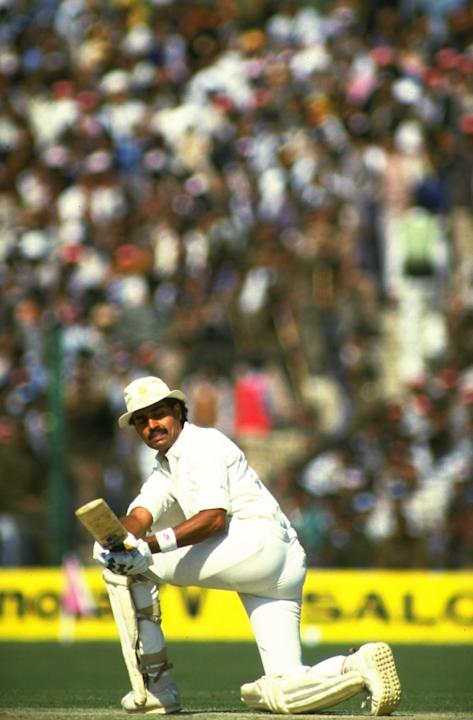 Dilip Vengsarkar of India