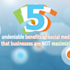 5 Undeniable Benefits Of Social Media That Businesses Are Not Maximizing