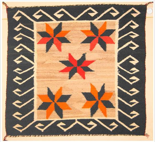 Navajo Pattern Textiles and Decor