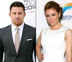 "Channing Tatum Reveals Childhood Crush on Alyssa Milano: ""She Was It, Man"""