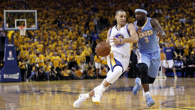Basketball - Warriors win series against Nuggets