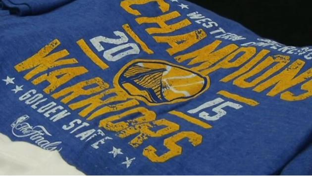 Warriors gear flying off shelves following conference finals win