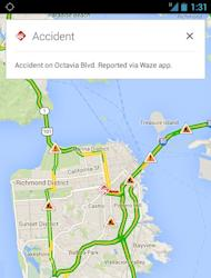 Google Map update brings real-time incident reports