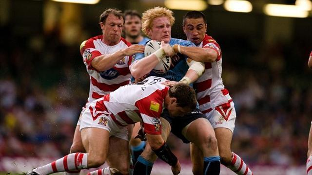Rugby League - Burgess blow offset - White
