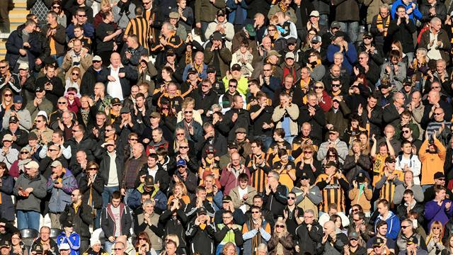 Championship - Hull City support protest march against fan treatment