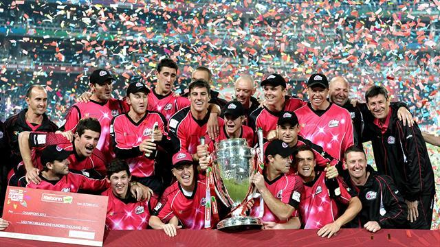 Cricket - Champions League glory for Sydney Sixers