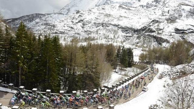 Giro d'Italia - Stage 19 cancelled due to snow