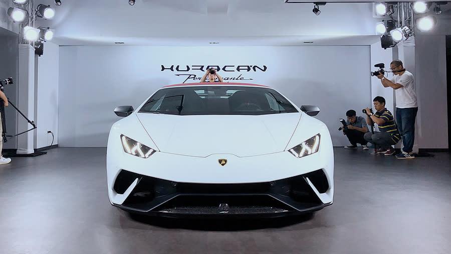 Lamborghini Huracán Performante Spyder正式抵台