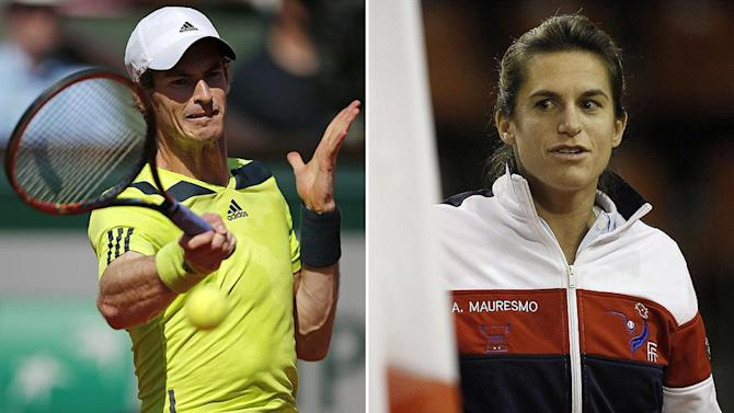 Tennis - Murray hints at gentler approach with new coach Mauresmo