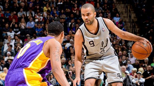 Basketball - Parker leads Spurs to second victory over Lakers