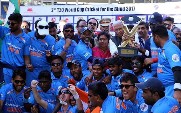 Cash prize for T20 World Cup-winning blind cricket team