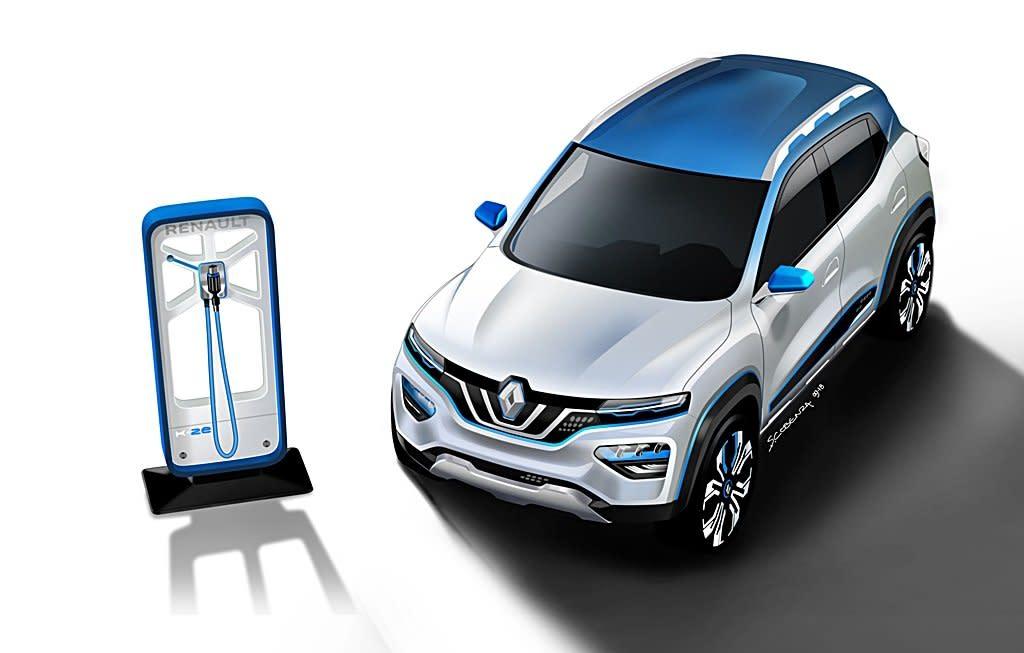RENAULT電動搶進中國,上海車展將推出全新電動休旅City K-ZE