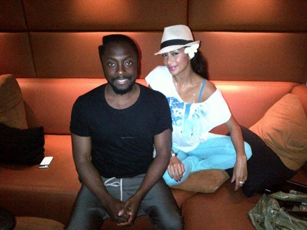 Celebrity Twitpics: When it comes to musical collaborations, we reckon will.i.am and Nicole Scherzinger would be a pretty amazing fit. So when Nicole tweeted this photo of her and will.i.am in the rec
