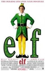 Elf moie poster starring Will Ferrel