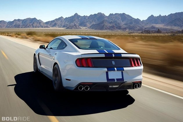 Shelby Mustang GT350 Rear photo
