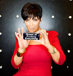 "Kris Jenner's iPhone Case Says She's ""Queen of Effing Everything"""