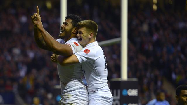 Rugby - England cruise to solid win over Fiji