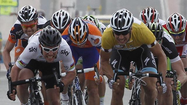 Cycling - Cavendish and Boonen to team up for first time in Qatar