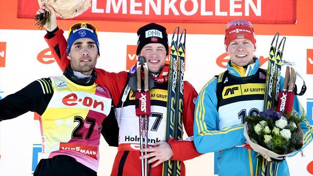 Biathlon - Boe beats Fourcade by 0.1s in Norway