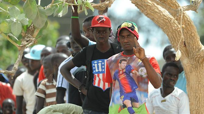 Lionel Messi in Senegal
