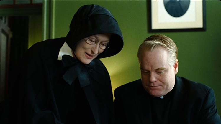 Meryl Streep Philip Seymour Hoffman Doubt Production Stills Miramax 2008