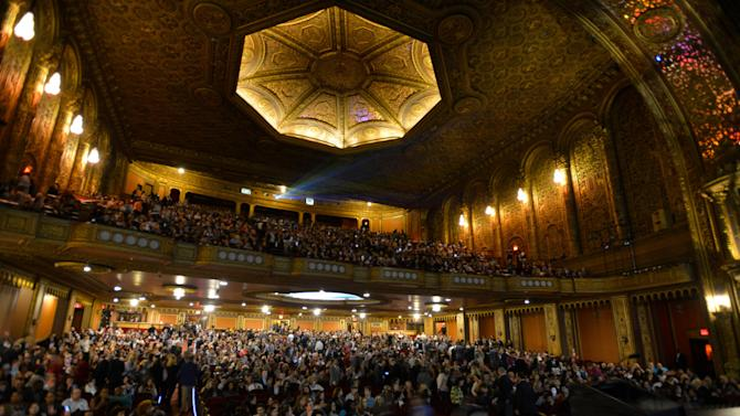 Full house at the United Palace Theatre in Washington Heights, New York City!