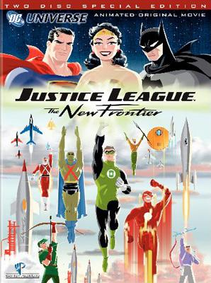 DVD art for Warner Premiere's Justice League: The New Frontier