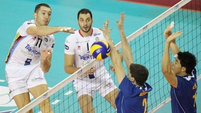 Volleyball: Trentino win fourth consecutive world title