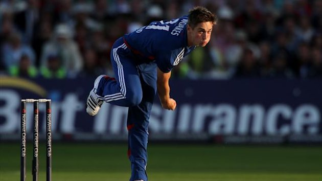 Chris Woakes was handed a chance to impress against India