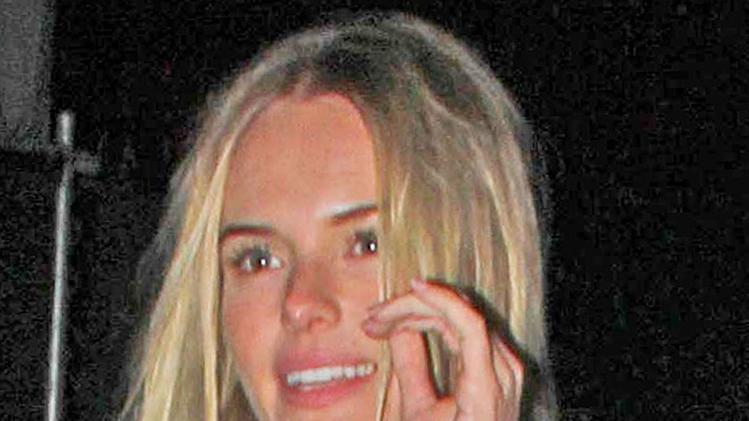 Kate Bosworth Leaving A Coldplay Concert