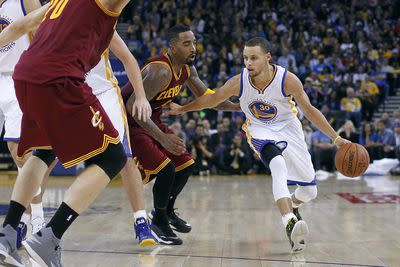 The Warriors-Cavaliers NBA Finals will be a wild, beautiful shootout