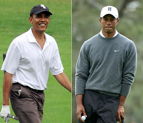 "Barack Obama on Golfing With Tiger Woods: ""He's on Another Planet"""