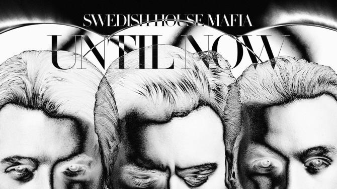 "This CD cover image released by Astralwerks shows the latest release by Swedish House Mafia, ""Until Now."" (AP Photo/Astralwerks)"