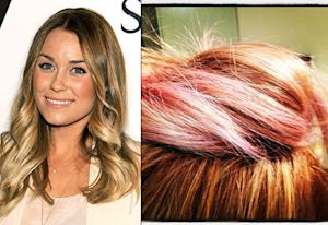 Lauren Conrad Dyes Her Hair Pink!
