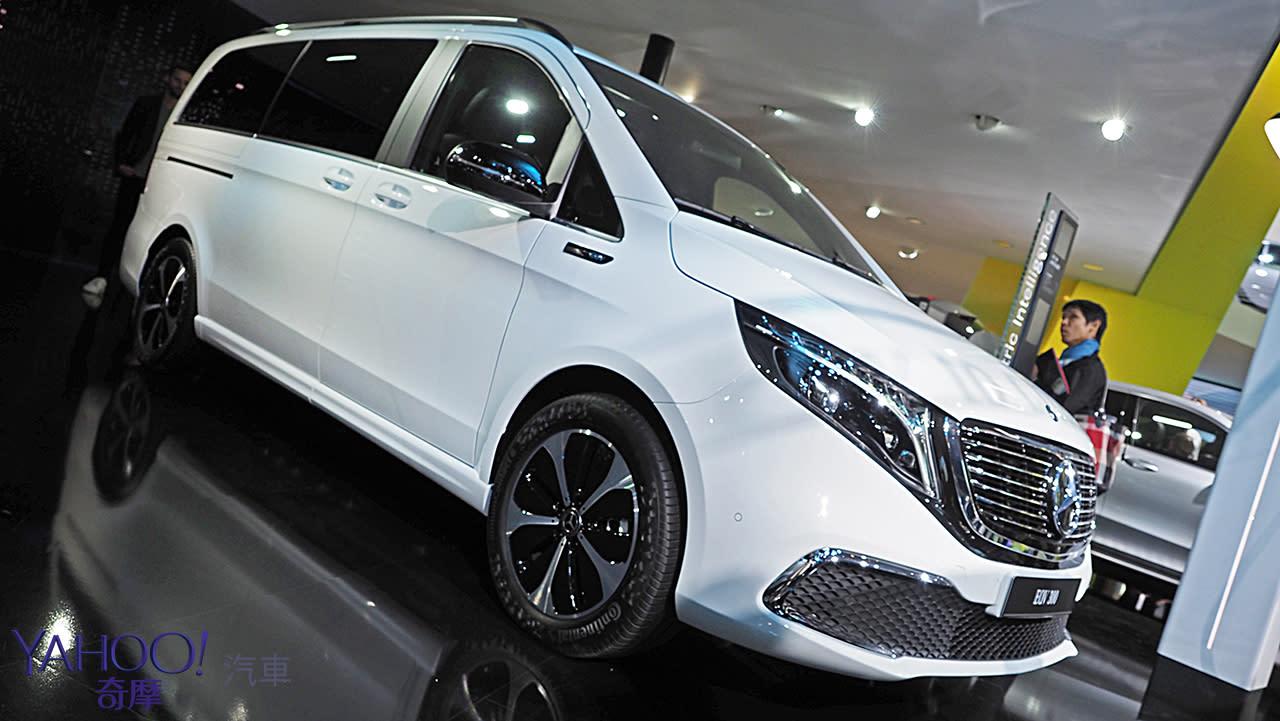 【2019法蘭克福車展】不疾不徐展現純電特長!Mercedes-Benz純電MPV座駕EQV展現載很大使命
