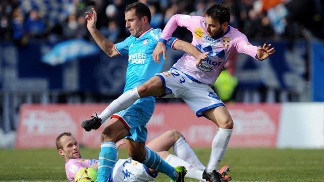 Ligue 1 - Marseille's poor run continues with draw at Evian
