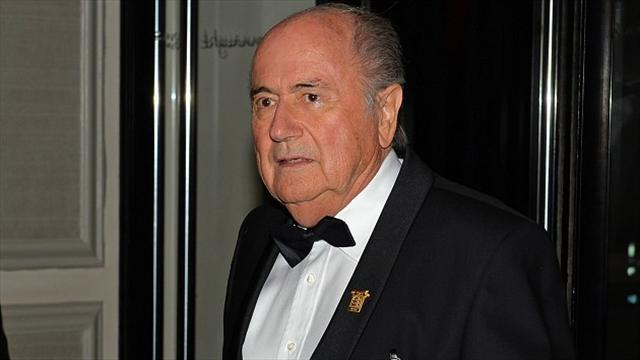 Football - Blatter hints he will stand for FIFA president again