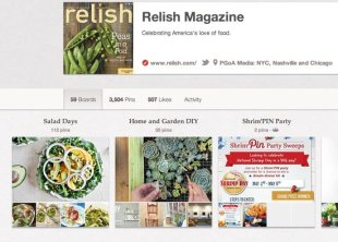 5 Brands Using Pinterest Right and How to Learn from Them image relish magazine pinterest