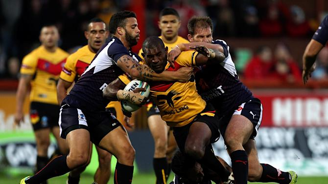 Papua New Guinea v France - Rugby League World Cup: Group B